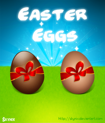 Easter Eggs by Skynix