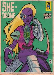 She-Drone #2 by RalphNiese