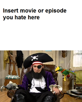 Patchy the Pirate Hates Meme Template by eagc7