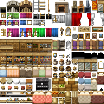 Tiles and Tilesets on Collective-Arts - DeviantArt