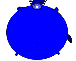 Beaver Blueberry Inflation by LoganRock305