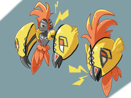 tapu koko by SillyCaracal