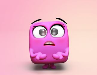 Zbrush Doodle: Day 1423 - I don't know by UnexpectedToy