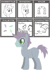 MLP Pony Generator Adopts - Jelly Bean by xavs-pixels