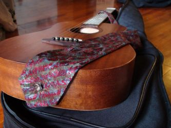 Guitar Strap Tie by xcmer
