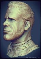 Ron Perlman by Bawarner