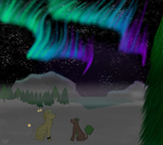 Alaskan Skies .:CE:. by Wolf--Prime