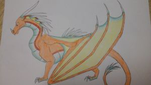 Request: Brisk the SkyWing/IceWing Hybrid 2 by Ercyrias