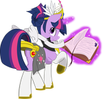 Vector Twilight FFantasy with book by Barrfind
