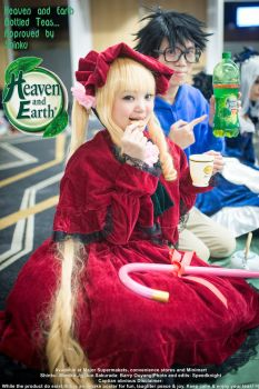 Heaven and Earth x Rozen maiden (Omake) by speedknight