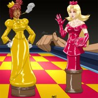 Gift - Chess Gals by SeanRM