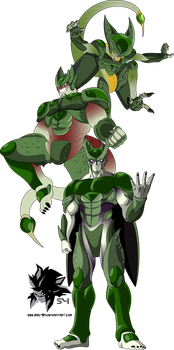 Cell MLL Redesign (Cell Saga) by MAD-54