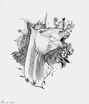 Overwhelmed - Traditional by Pencil--Pony