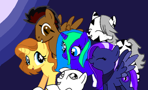 MLP next generation collab by Meltyegg