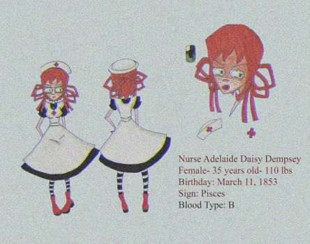 Character Reference: Nurse Dempsey by SadoAlice