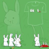 Woot Shirt - Tasty Meat by fablefire