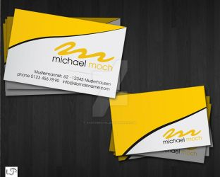 Print: Business Card I by Haschbeutel