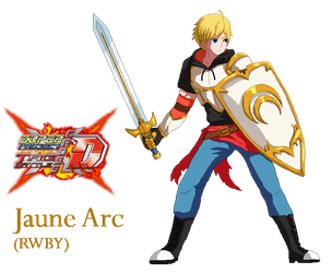 Super Project Cross Tag Battle - Jaune Arc by Crisostomo-Ibarra