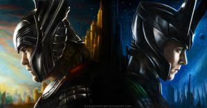 [request] Thor and Loki by Alex-Panther