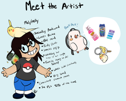 Meet the artist by Pastel-Core