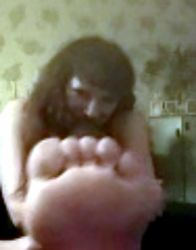 Goddess Angie foot tease by necksnap311
