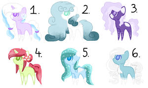 #10 Adoptables - Winter[CLOSED] by AdaKola