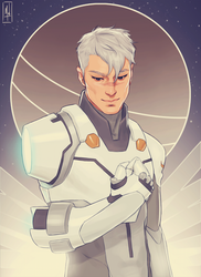 Captain Shiro by Merwild