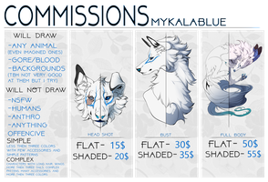 Commission Chart OPEN by MykalaBlue