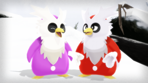 MMD PK Delibird DL by 2234083174