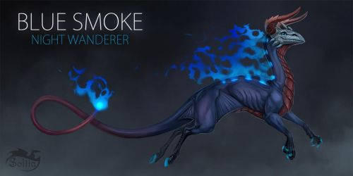 BLUE SMOKE [CLOSED] Auction by Soltia