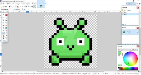 (PREVIEW) Mooncake Pixel Art by Thunderblade2001