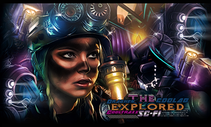 cooltraxx and Draghen THE EXPLORER by DraghenGFX