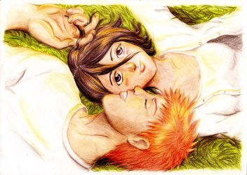 IchiRuki - At the sunset by 0ayu-chan0
