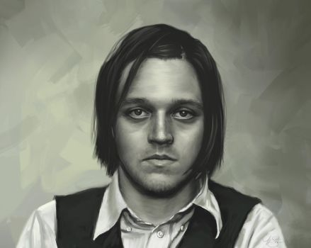 Win Butler Portrait by timothysmithdesign