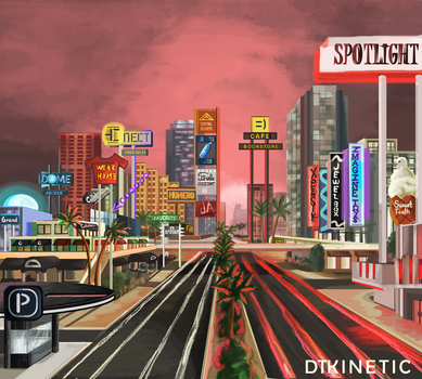 American Tokyo by DTKinetic