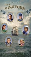 H.M.S. Pinafore Poster by chill13