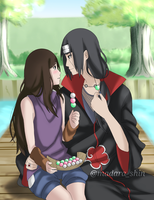 Itachi and izumi by MadaraShinn