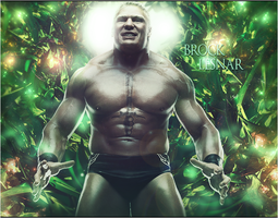 WWE UFC Brock Lesnar by Graphfun