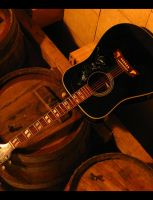 GUITAR AND WINE by epsdesign