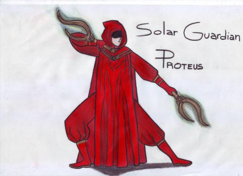 SOLAR GUARDIAN PROTEUS by LadyChivusChan