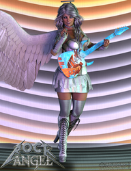 Rock Angel by Scavgraphics