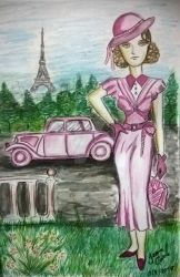 girl pink by jeankeize