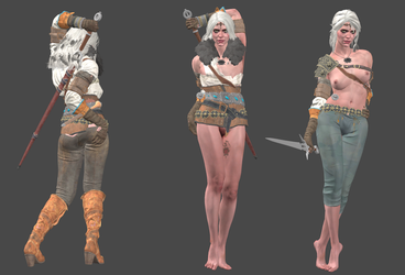 The Witcher 3 - Ciri FULL by Marcelievsky