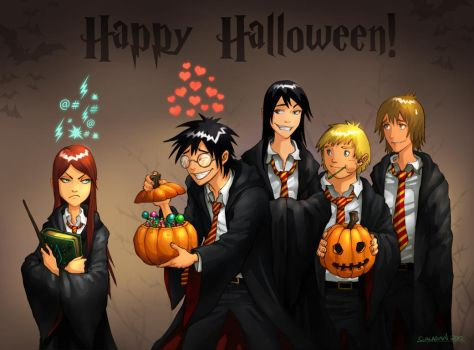 Happy Halloween by hueco-mundo