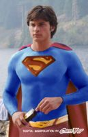 tom welling as superman by Chris-V981