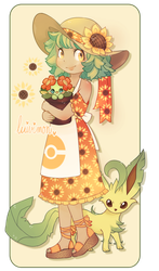 Pokegardener Leafeon by WiviAdopts