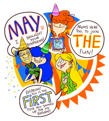 MAY THE FIRST by VampireMeerkat