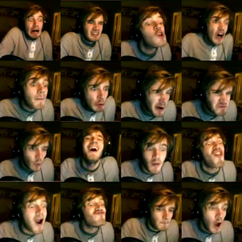 PewDiePie Collage by DistrictPotter13