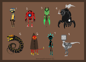 Robo Adopts 1 [Point Option Added!] by Adopt-Monstar