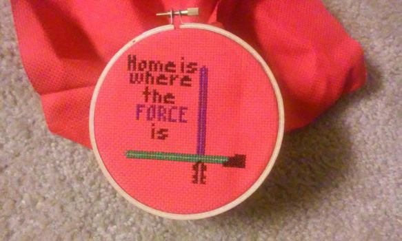 Home is where the FORCE is by maeanalda